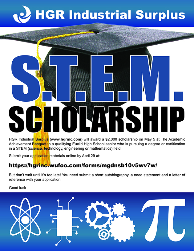 STEM scholarship flyer