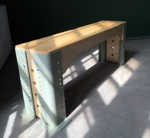 worktable bench by Railside Creations